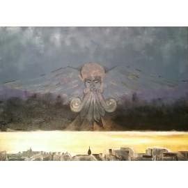 Obraz - Akryl - Anjel môjho mesta - Ing. Frederica Henrieta Hegeduš