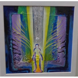 Obraz- Vo svetle krídel - Mgr. Art Kamil Jurašek