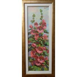 Obraz - Olejomaľba na plátne - Kvety II. - akad. mal. Timour Karimov