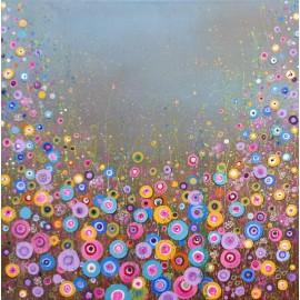 Obraz - Akryl - Farebné bublinky - Silvia Sochuláková