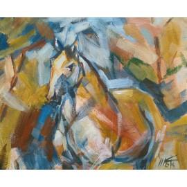 Obraz - Akryl na plátne - Mustang - Mgr. Marek Krajňák