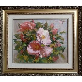 Obraz - Olejomaľba na plátne - Kvety I. - akad. mal. Timour Karimov