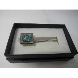 Sklenený šperk - Spona na kravatu
