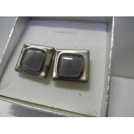 Sklenený šperk - Manžetové gombíky