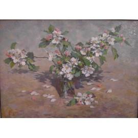 Obraz - Olejomaľba - Kvety II. - akad. mal. Timour Karimov