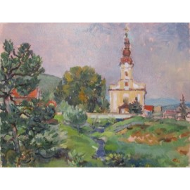 Obraz - Olejomaľba - Myslava - Akad. mal. Ľudmila Studenniková