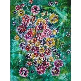 Obraz - Smaragdová lúka - Mgr. Art. Ľubomír Korenko