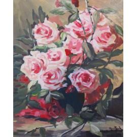 Obraz - Akryl - Ruže - akad. mal. Varuzhan Aghamyan