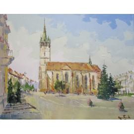 Obraz - Olejomaľba na plátne - Prešov - Akad. mal. Varuzhan Aghamyan