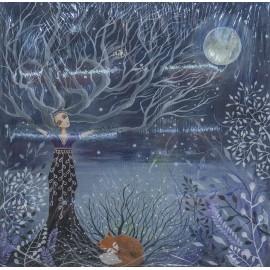 Obraz - Akryl - Žena (strom) - Silvia Sochuláková