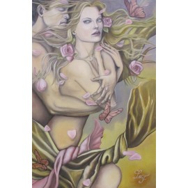 Obraz - Olej - Jemnosť tvojej duše - Liliana Franko