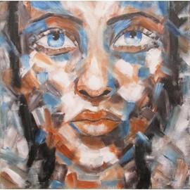 Daniela Petríková - Abstrakt, Olej, 75x94