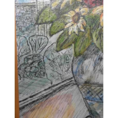 Obraz - Kvety na parapete