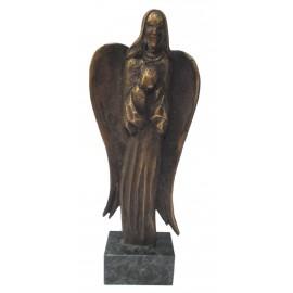 Bronzová socha - Anjel - akademický sochár Maciek Syrek