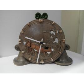 Keramické hodiny - Ján Mokriš