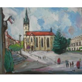 Obraz - Olejomaľba na plátne - Prešov 30 - Viliam Volk