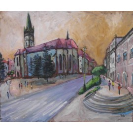 Obraz - Olejomaľba na plátne - Prešov 31 - Viliam Volk