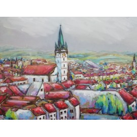 Obraz - Prešov 11 - Viliam Volk
