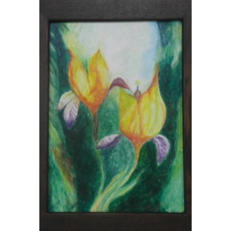 Obraz - Žlté kvety