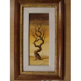 Obraz - Olejomaľba na plátne - Strom 2 - akad. mal. Alexander Jazykov