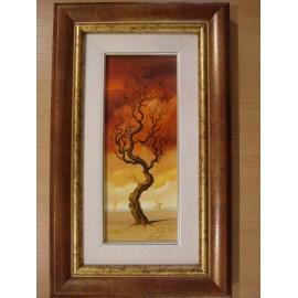 Obraz - Olejomaľba na plátne - Strom 3 - akad. mal. Alexander Jazykov