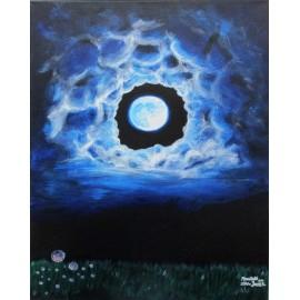 Obraz - Akryl - Moonlight - Silvia Lasák