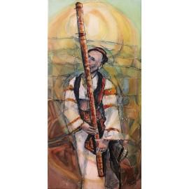 Obraz - Fujara - Mgr. Art. Ľubomír Korenko