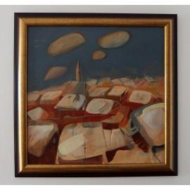 Obraz - Akryl na sololite - Ticho - PaedDr.Ladislav Majoroši