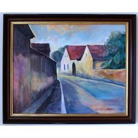 Obraz - Akryl na plátne - V južných čechách - PaedDr.Ladislav Majoroši