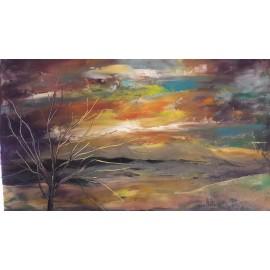 Obraz - Abstraktná maľba - Bc. Helena Vožňáková