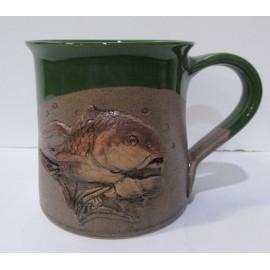 Keramika- Hrnček-Ryba- Ján Mokriš