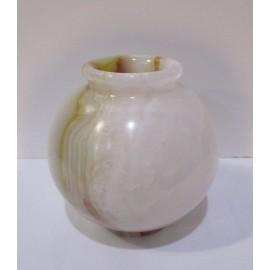 Váza z pravého pakistanského ónyxu