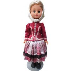 Krojovaná bábika-Zamutovská nevesta - ARTDiELA