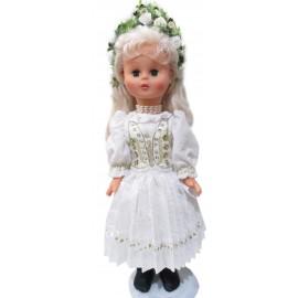 Krojovaná bábika-Nevesta - ARTDiELA