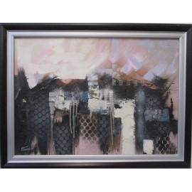 Obraz - Akryl - Abstrakt mesto -Treciak Peter