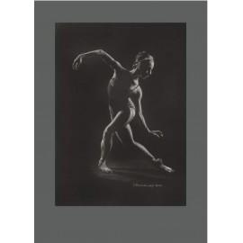 Obraz - Pastel - Akt - Ján Radvanský