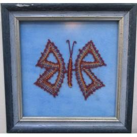Obraz - Paličkovaná čipka - Motýľ - Eva Kundríková