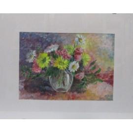Obraz - Akryl- Kvety vo váze- Inna Gusková