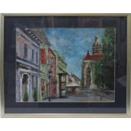 Obraz - Olejomaľba - Košice - L.W. Niewiadomski