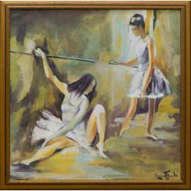 Obraz - Olejomaľba - Prestávka - Akad. mal. Varuzhan Aghamyan