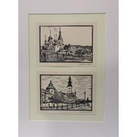 Obraz - Lynorit - Prešov č.1,2 - Mgr. Art. Jaroslav Staviščák
