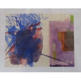 Obraz - Akvarel - Abstrakt A6 - Mgr. Art. Andrea Jakubová