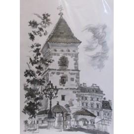 Akad. Mal. Ľudmila Studennikova - Dóm Sv. Alžbety