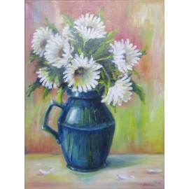 Obraz - Olejomaľba na plátne - Kvety III - Adam Dušan