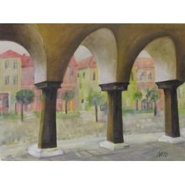Obraz - Akryl - Levoča - Eleonóra Kovalčíková