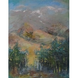 Obraz - Olej na plátne - Krivaň - Anna Munya