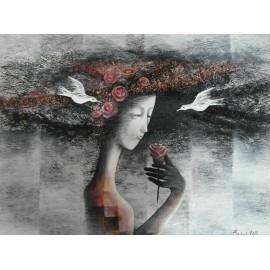 Obraz - Akryl - Ruža - Baňas Matúš