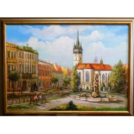 Obraz - Olejomaľba - Prešov Neptún - Vladimír Semančík