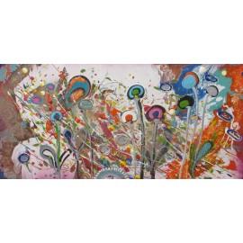 Obraz - Hravé kvety - K. Haraksimová