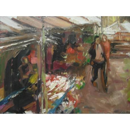 Obraz - Na poľskom trhu